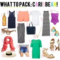 jillgg's good life (for less) | a style blog: what to pack: the caribbean!