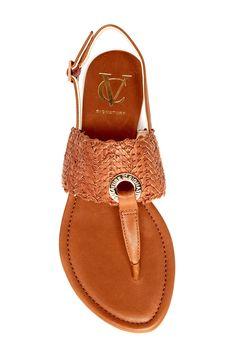 Vince Camuto Signature Finn Woven Leather Sandal