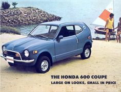 the 1971 Honda 600 Coupe, we LOVE this, dont you?