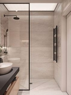 Modern Bathroom Design Ideas With Amazing Storage 21