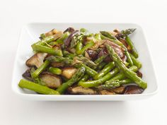 Asian Asparagus and Mushrooms from FoodNetwork.com