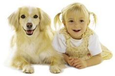 They say people look like their dogs. I guess for some, it starts young.    :-)     via @Julie Ortolon