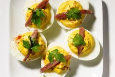 deviled eggs with anchovy more egg recipes eggs variations tasty ...