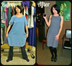 A Pattern/ReFashion Hybrid Dress!