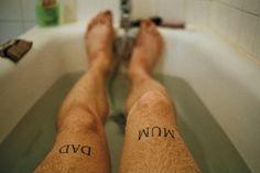 #tatoo #bathroom #Theo Gosselin