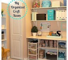 Craft Room Organizat