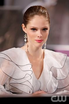 """Coco Rocha"" -- André Leon Tally and Nigel Barker join guest judge Coco Rocha and Tyra Banks on the judges' panel for the elimination on America's Next Top Model on The CW. Pictured: Coco Rocha Cycle 17 Photo: Jaimie Trueblood/The CW ©2011 The CW Network, LLC. All Rights Reserved"