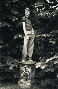 David Bowie by Lord Snowdon, 1978.