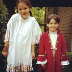 My little Colonial kids