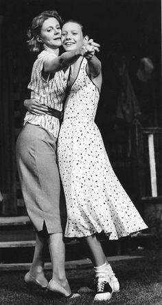 Blythe Danner and Gwyneth Paltrow :.