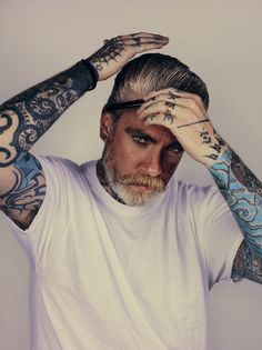 later life inspiration (the hair, the effortless style, the tattoos...i love it all)