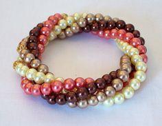 Twisted Pearl Bracelet £12.00