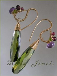 Beautiful wire wrapping - Bella Jewels