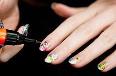 Christopher Kane Spring 2012-Inspired Nails