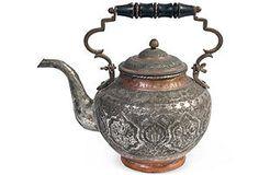 attractive antique kettle
