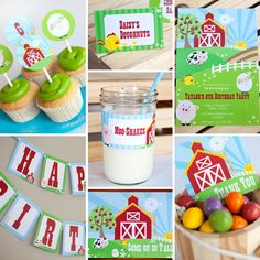 Cool farm birthday party theme for kids