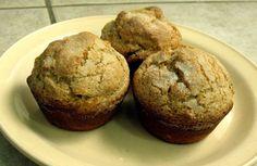 Cranberry Oat Eggnog Muffins