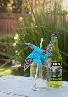 how to make pinwheel straws