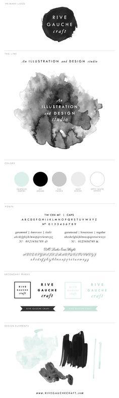 Branding Design & Logo | Rive Gauche Craft