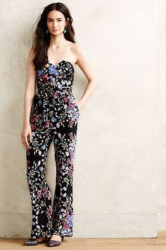 Y'all know I love a good jumpsuit...this iso on my wish list! Kapolei Jumpsuit #anthropologie