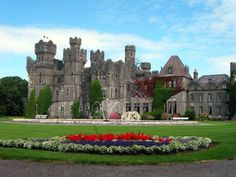 Ashford Castle, in Cong Co Mayo, Ireland... The most beautiful place I've ever stayed.
