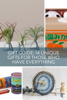 "Shopping for some who has it all? Check out these 14 Christmas gifts for those who have everything already. Whimsical, stylish, and practical gifts for all.    #[""Christmas"", ""Gift-Guide"", ""Holiday"", ""gifts""]"