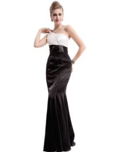 Ever Pretty One Shoulder Rhinestones Empire Line NWT Prom Dress 09673