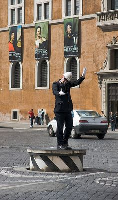 Busy Piazza Venezia, Roma