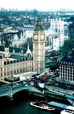 London. Gorgeous London.