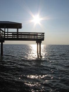 Fairhope Pier in Fairhope, Alabama