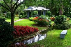 Visit the beautiful Guido Gardens in Metter, Georgia!