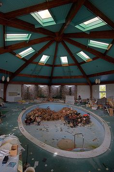 Abandoned Resort Hotel