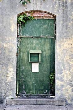 The Green Door  Apalachicola, Florida  J.Cartier Photography