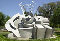 Maze 2000 by Alice Aycock. Located near the #USF School of Music.