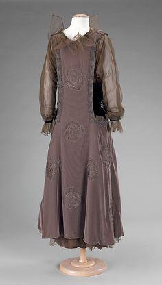 Dress, Evening      1915–17