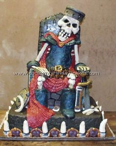 Skeleton pirate cake. WOW!