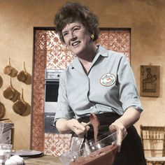 Julia Child Biography - 100th Birthday, Facts, Life Story, Video - Biography.com eggs, poach egg, juliachild, chef season, children, julia childs, brais spinach, french chef, cream