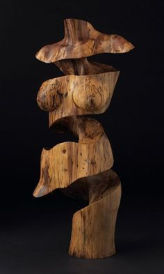 Wood Sculpture by Chad Awalt.