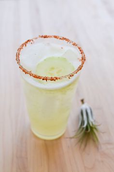 Cucumber Margarita for National #TequilaDay - Cupcakes and Cutlery
