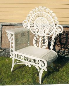 Antique Wicker - Online Catalog -- Listed for $1,400.