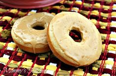 Biscoff cake donuts |Pinned from PinTo for iPad|