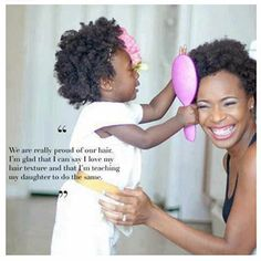 9 things to tell your child so she loves her hair - from naturallycurly.com. Good advice!