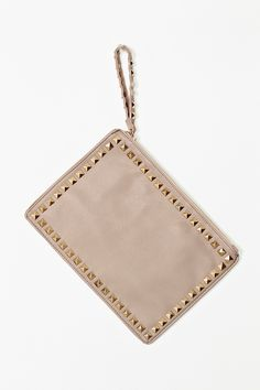 Simone Studded Clutch