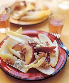 Barefoot Contessa - Recipes - Endive, Pear, and Roquefort Salad