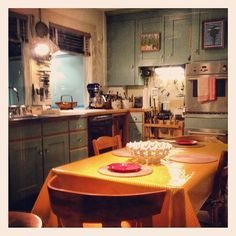 Julia Child's kitchen at the Smithsonian closed temporarily in January 2012, but they let @PBS in for a SNEAK PEEK before the reopening!