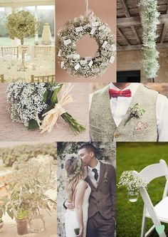 Gypsophila Wedding Flowers from The Wedding Community