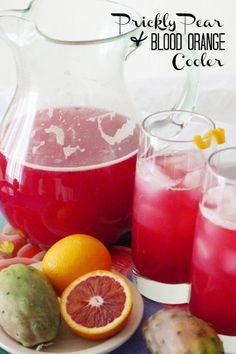 Prickly Pear Blood Orange Cooler