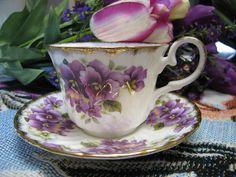 Pansy Teacup