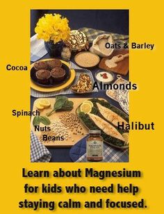 Magnesium-rich foods ❥➥❥ barley, cocoa, Spinach, Nuts, Beans, Almonds    How many of these foods do... pinned with Pinvolve