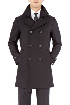 Paul Smith Double-Breasted Overcoat